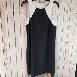 Banana republic black white Sleeveless dress sz8